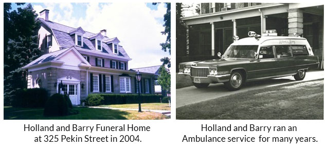 History of Holland and Barry